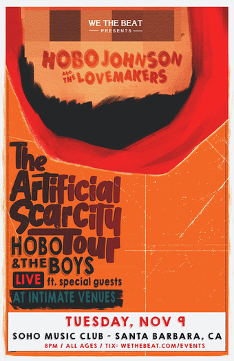 We The Beat Presents : Hobo Johnson & The Lovemakers