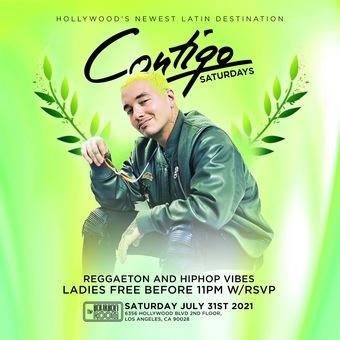 CONTIGO SATURDAYS @ THE Bourbon Room Hollywood / REGGAETON PARTY