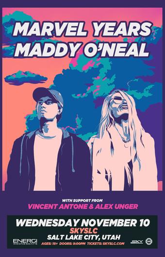 ENERGI WEDNESDAYS : Marvel Years & Maddy O'Neal