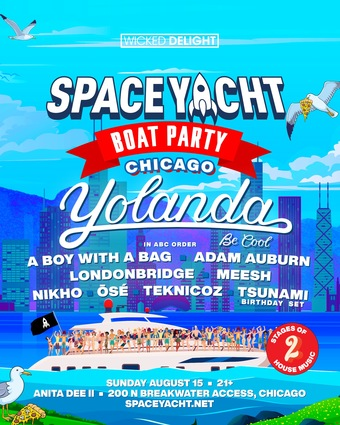 Space Yacht Boat Party Chicago
