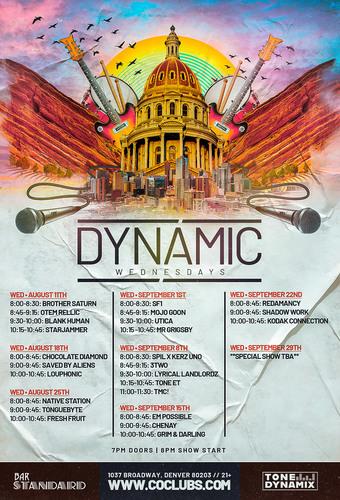 Dynamic Wednesdays - 8/18