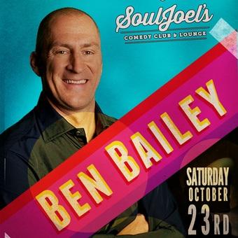 Ben Bailey headlines SoulJoel's Comedy Dome