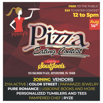 Penny's Pizza Eating Contest at SoulJoel's Comedy Dome