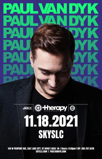 Therapy Thursdays : Paul van Dyk