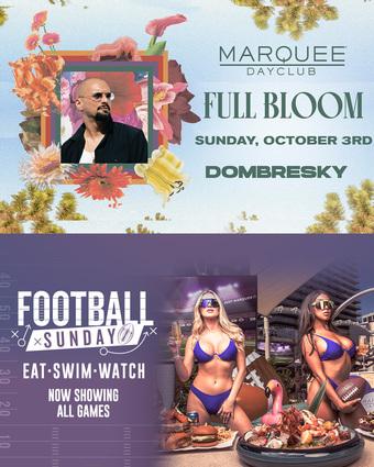 FULL BLOOM: DOMBRESKY + FOOTBALL SUNDAY