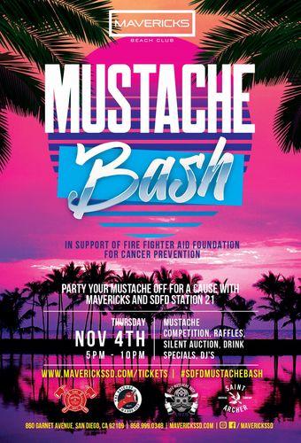 SDFD Mustache Bash