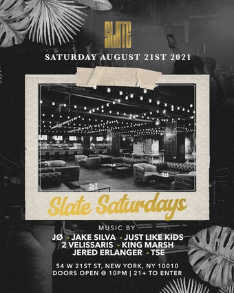 Slate Saturdays 8/21