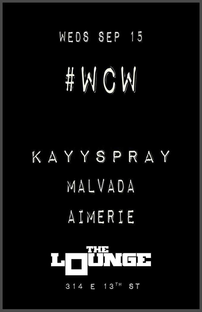 WCW: Kayyspray, Malvada, Aimerie