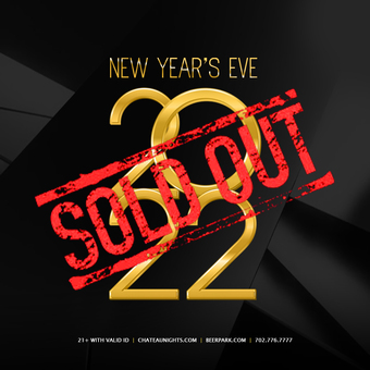 New Years Eve 2022 at Chateau Rooftop & Beer Park