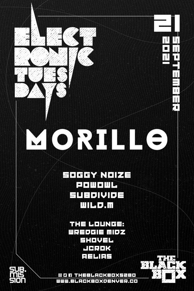 Sub.mission presents Electronic Tuesdays: Morillo