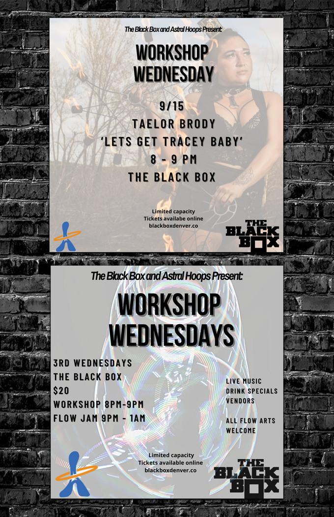 Astral Hoops Flow Workshop w/ Taelor Brody + Flow Jam