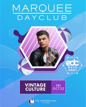 EDC WEEK: VINTAGE CULTURE