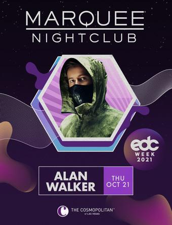 EDC WEEK: ALAN WALKER