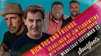 Rich Vos and Friends at SoulJoel's Comedy Dome