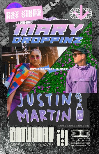 Justin Martin + Mary Droppinz DAY PARTY at Lot 500 9.18.21
