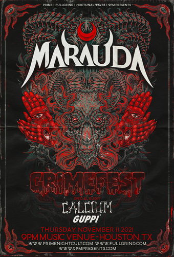 GRIMEFEST Ft. Marauda + Calcium + Guppi (Houston)