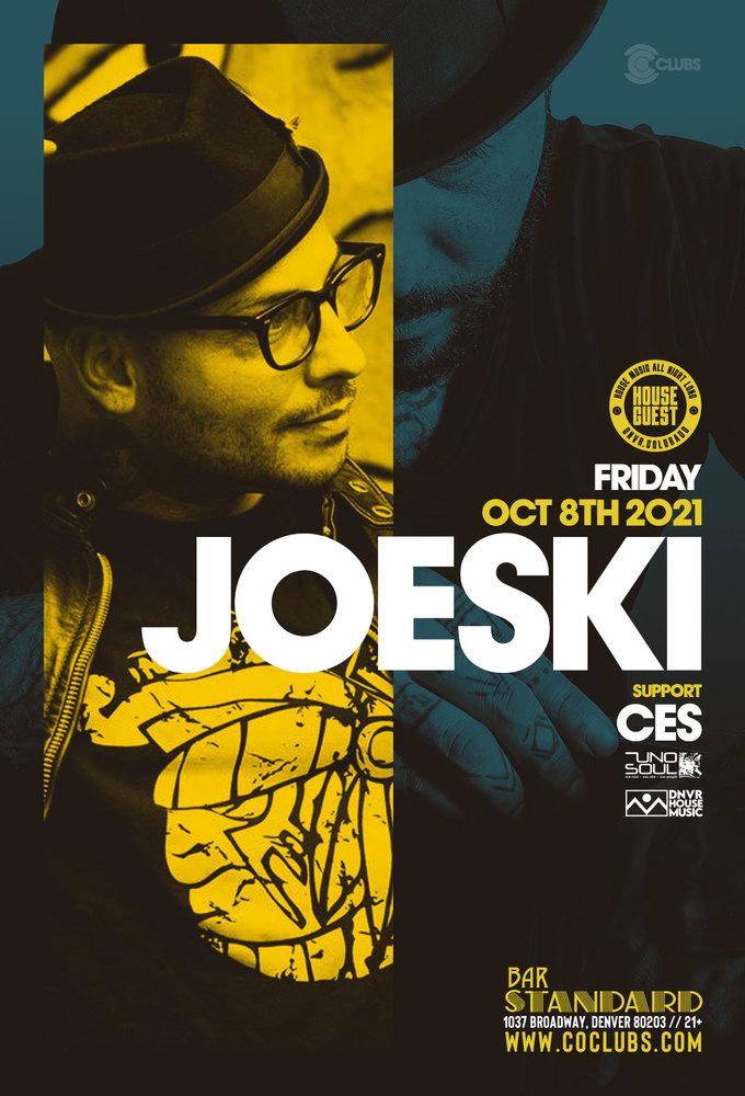 House Guest: Joeski - *NEW DATE*