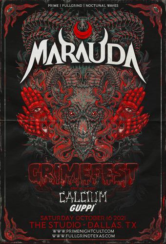 GRIMEFEST Ft. Marauda + Calcium + Guppi (Dallas)