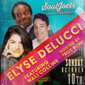 Elyse DeLucci headlines SoulJoel's Comedy Dome