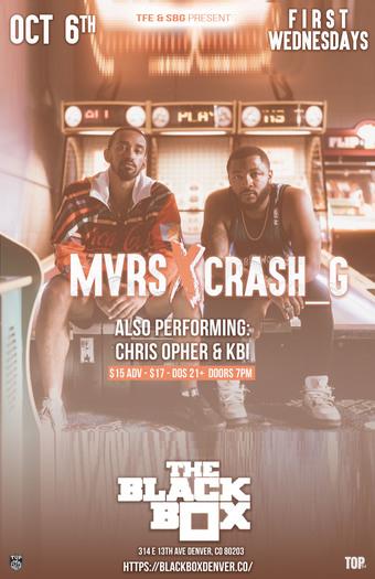 SBG & TFE present: Crash_G x MVRS