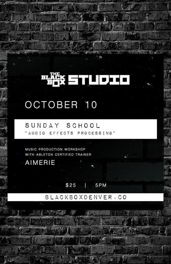 Sunday School: Audio Effects Processing