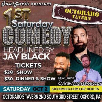 Oxford, PA: 1st Saturday Comedy Night at Octoraro's