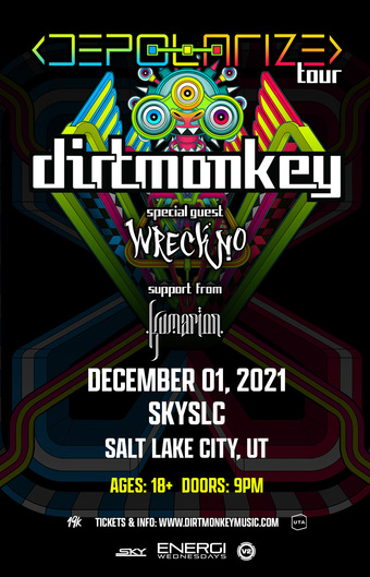 ENERGI WEDNESDAYS : Dirt Monkey