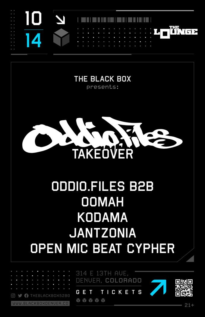 Oddio.Files: Oomah, Kodama, Jantzonia, Open Mic Beat Cypher