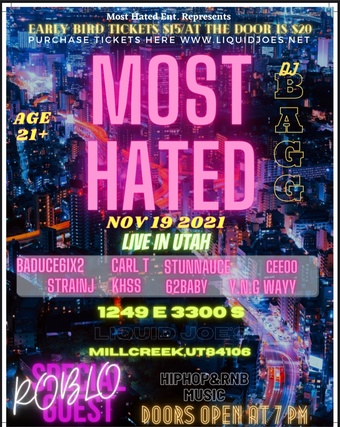 Most Hated / Hip Hop & RNB Music