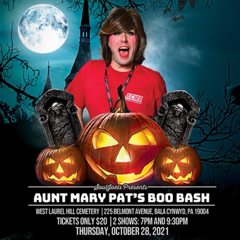 Bala Cynwyd, PA: Aunt Mary Pat's Boo Bash at West Laurel Hill Cemetery
