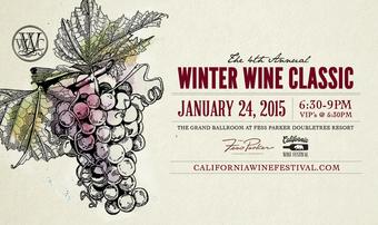 4th Annual Winter Wine Classic by California Wine Festival