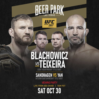 UFC 267 Viewing Party