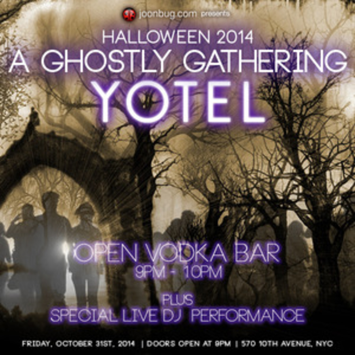 Halloween 2014 at Yotel - Yotel, New York, NY - October 31, 2014
