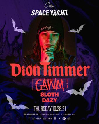 Dion Timmer Halloween in Orlando