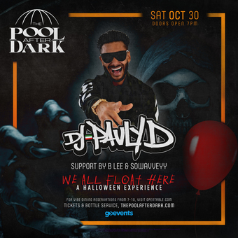 Halloween with Pauly D at The Pool After Dark