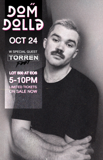Dom Dolla at Lot 500 EOS Lounge 10.24.21 5-10pm