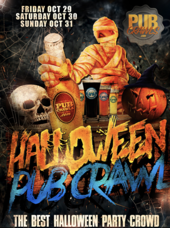 Official New York City Halloweekend Bar Crawl