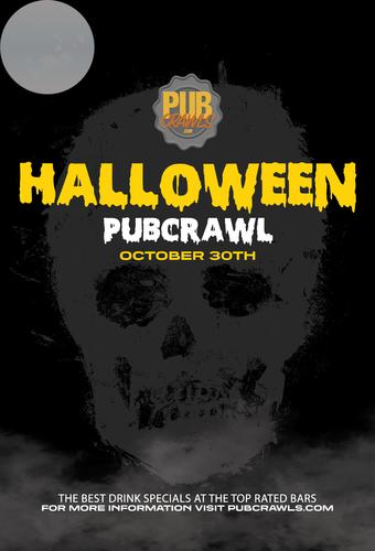 Houston Halloween Weekend Bar Crawl 2021