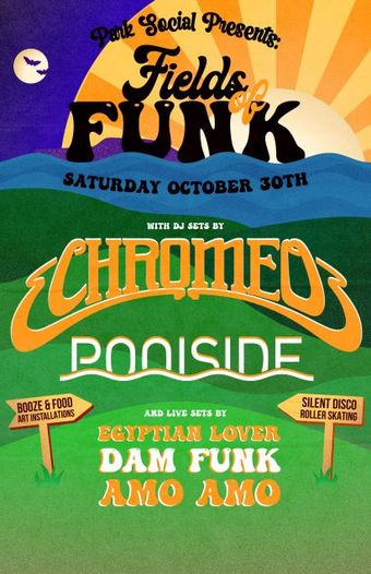 Fields of Funk After Party at EOS Lounge 10.30.21 8pm