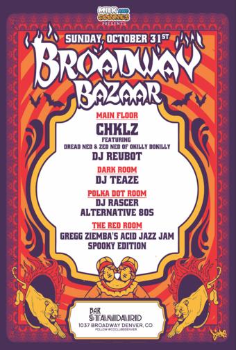 Broadway Bazaar - Halloween Spooktacular!
