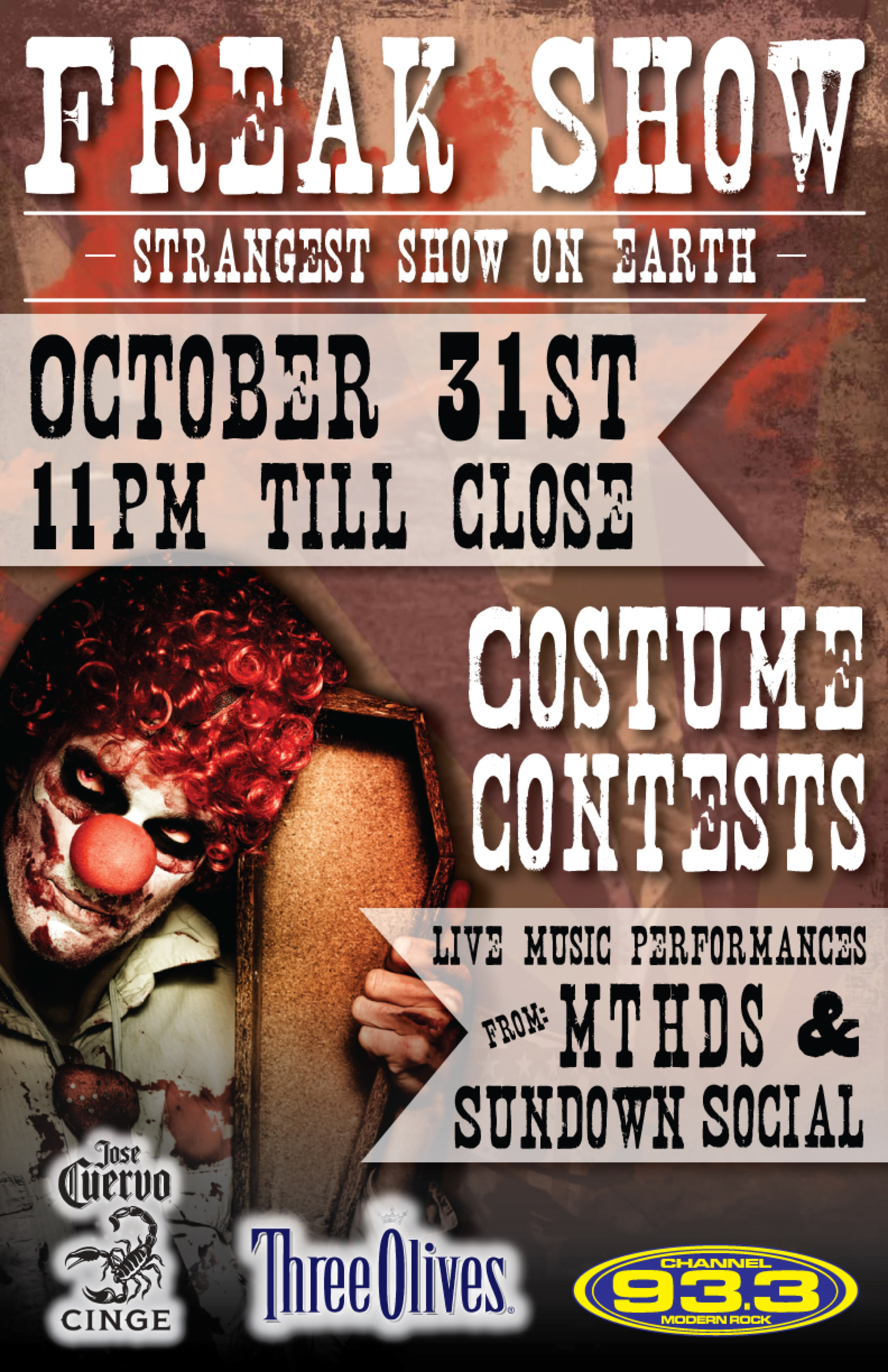 Lodo's Bar and Grill Freak Show Halloween Party - Tickets - Lodo's ...