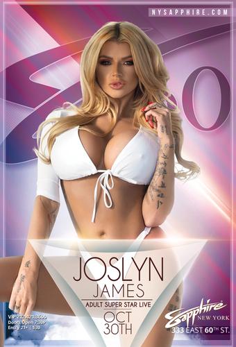 Joslyne James at Sapphire 39