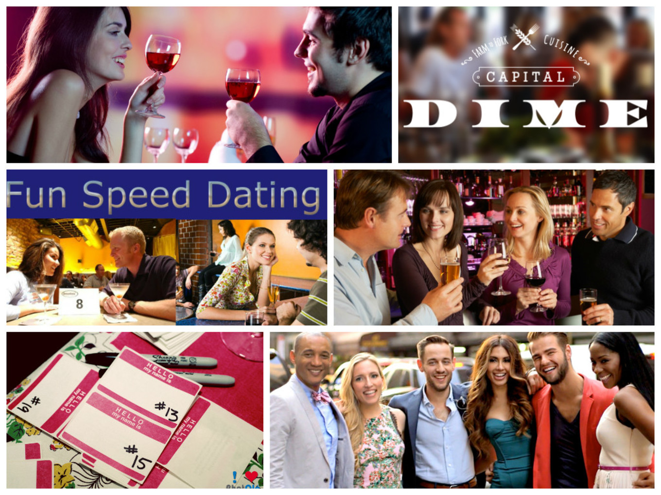 Speed Dating Sacramento gebied