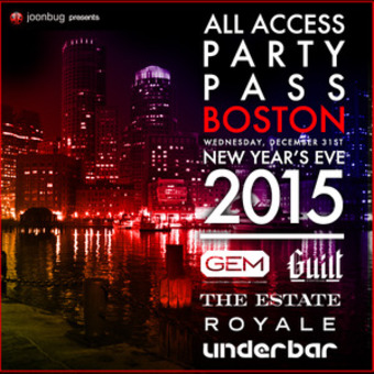 Boston New Year's Eve 2015 All Access Pass - Boston All ...