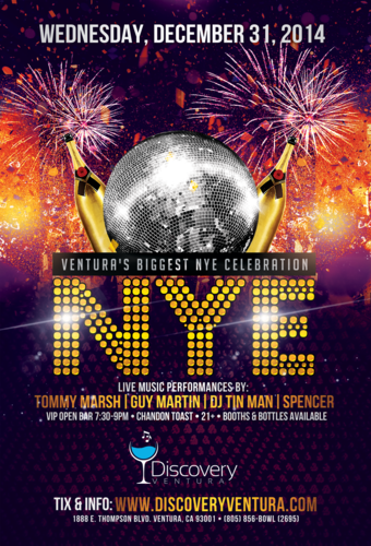 NYE 2015 at Discovery