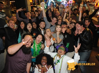 MARDI GRAS MADNESS CRAWL - Saturday