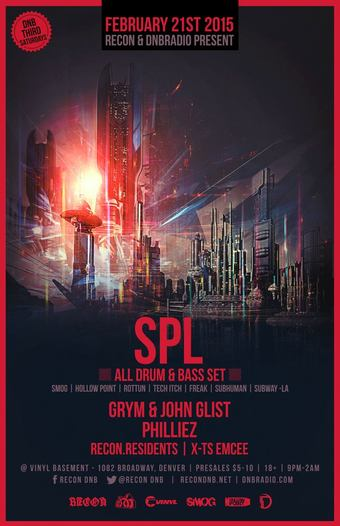 SPL :: Recon & DnbRadio :: Vinyl Basement :: 18+