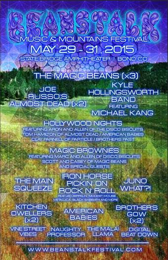 Beanstalk Music & Mountains Festival 2015