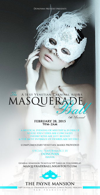 The Masquerade Ball: A Sexy Venetian Carnival Affair (6th Annual)