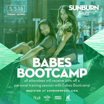 Babes Bootcamp x SUNBURN Fit